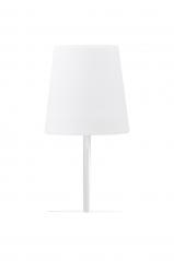 Gacoli Checkmate No.1 tafellamp - LED solar Wit gecoat 24 cm